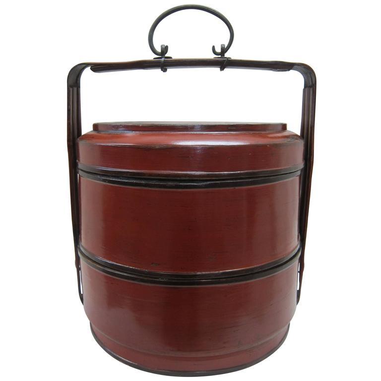 Antique Basket Box