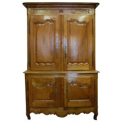 19th Century Cherry Buffet Deux Corps
