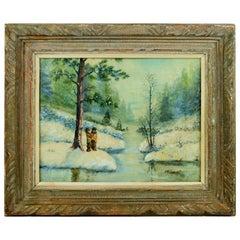 """Depth of Winter""  Landscape Painting"