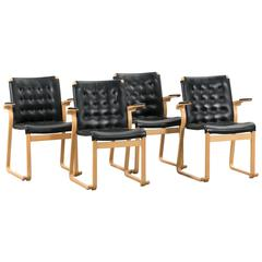 Set of Four Dining Chairs by Bruno Mathsson