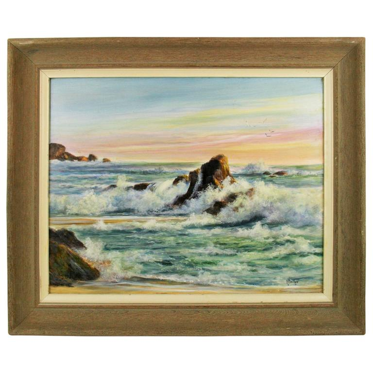 Oil Painting -Seascape by Backer