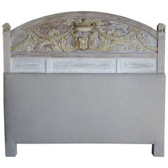 Italian Neoclassical Style Painted Headboard