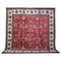 Persian Rugs, Unique Square Rugs from Tabriz
