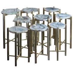 """Flair Edition """"Agata"""" Side Tables"""