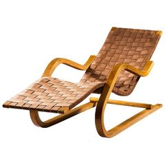 Antique and vintage chaise longues 1 061 for sale at 1stdibs for Chaise alvar aalto