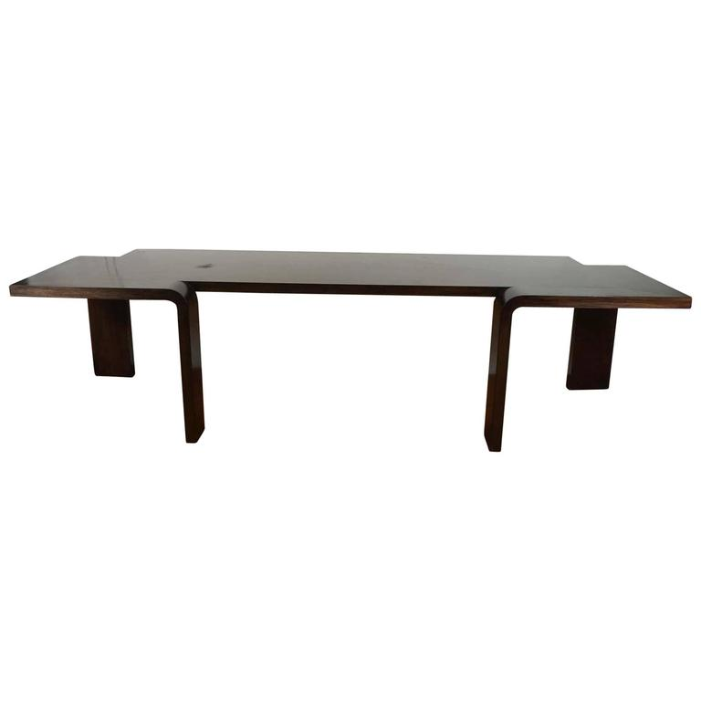 Modern Ebonized Console Table