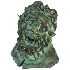 French Bronze Sculpture of Christ, Limited Edition, Signed