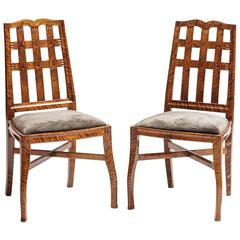 Pair of Jugendstil Side Chairs