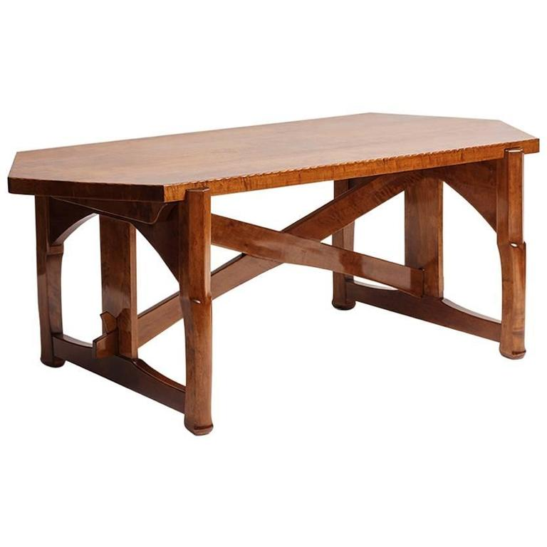Lars Israel Wahlman, Table, Sweden, c. 1910 For Sale
