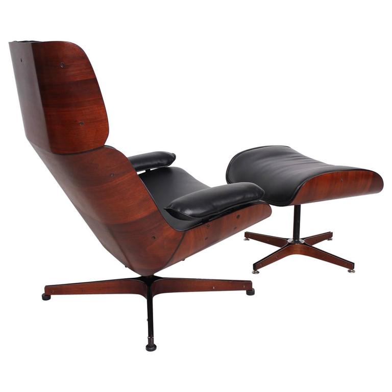 mid century modern george mulhauser mr chair for plycraft eames era for sale at 1stdibs. Black Bedroom Furniture Sets. Home Design Ideas