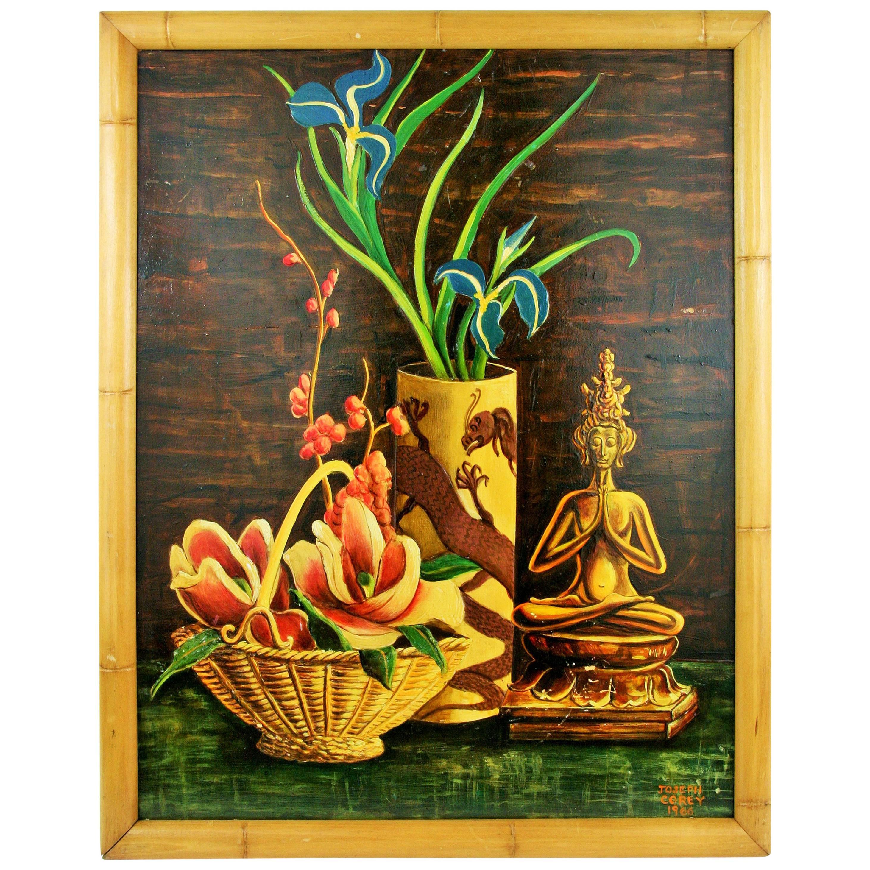 Oil Painting-Oniental Still Life