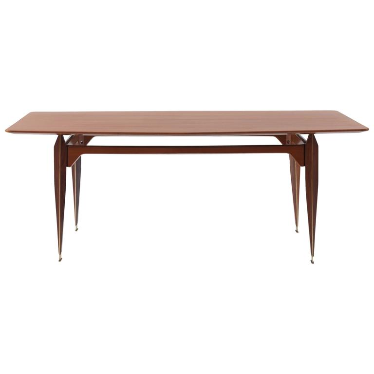 Extremely Rare Dining Table Attributed to Franco Albini, 1953