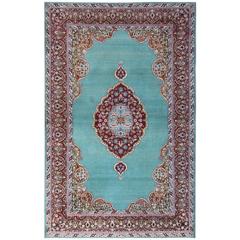 Magnificent Antique Rugs Persian From Kerman For