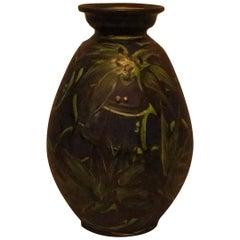 Large Kähler, HAK, Glazed Stoneware Vase
