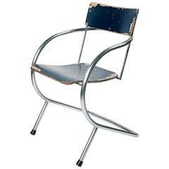 Paul Schuitema and D3, Chrome-Plated Chair Model 32, 1932