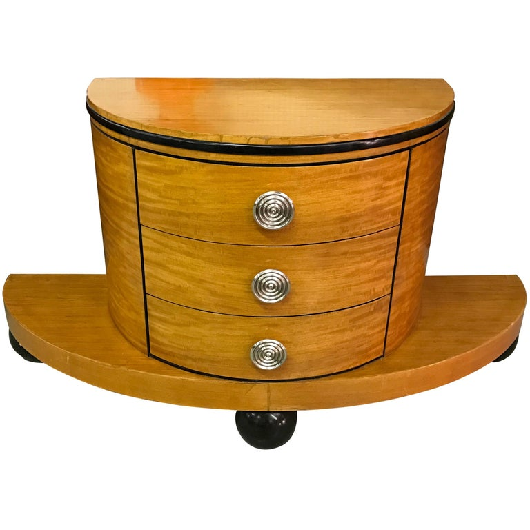 Italian Art Deco Chest Of Drawers For Sale