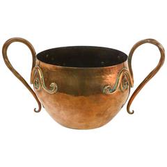 Arts and Crafts Copper Planter by Birmingham Guild of Handicraft