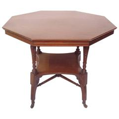 Excellent Aesthetic Octagon Shaped Centre Table