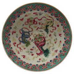 Qing Dynasty Fu-Lion Plate