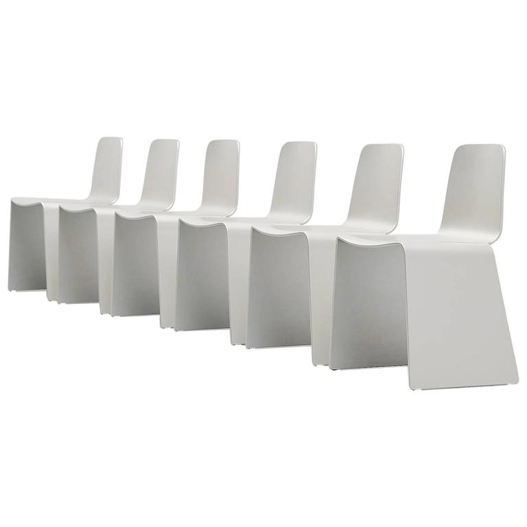 Scott Burton Style Dining Chairs, 1990 For Sale