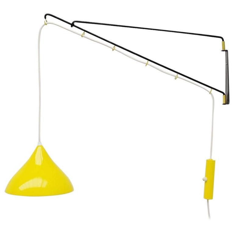 Cosack Leuchten Balance Wall Lamp, Germany 1950 For Sale