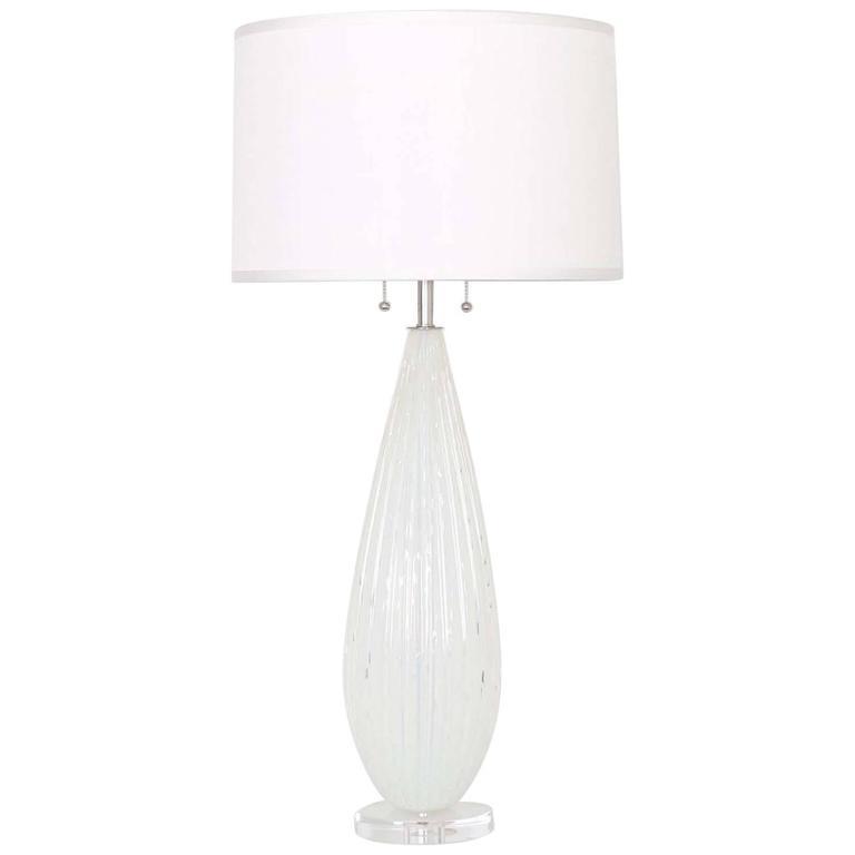 Murano Glass Lamp by Barbini