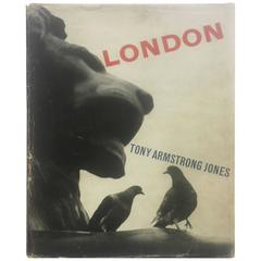 London Tony Armstrong Jones (Lord Snowdon) 1st edition 1958
