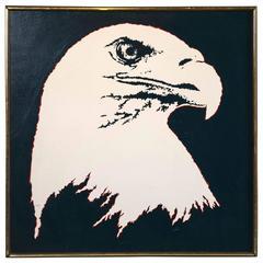 Taogaea Eagle Painting by Eddie Powell