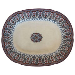 Large Arabian Pattern Staffordshire Platter