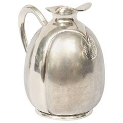 Silver Vase by Fratelli Cacchione from Milan, Italy