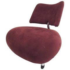 Contemporary Modern Pallone Slipper Chair by Roy de Scheemaker