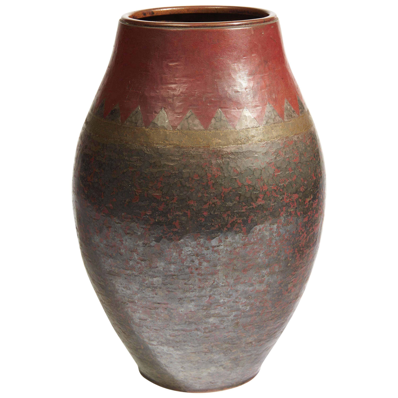 Ovoid Vase by Claudius Linossier