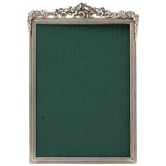 Lovely Classical Style Sterling Silver Picture Frame