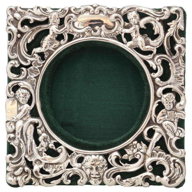 Victorian Sterling Silver William Comyns Picture Frame