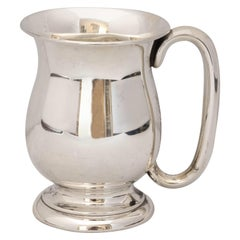 "Edwardian Sterling Silver ""Tankard-Form"" Baby Cup"