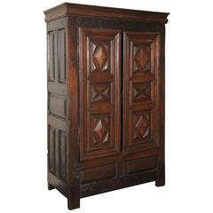 just cabinets 17th century rustic german armoire for at 1stdibs 18034