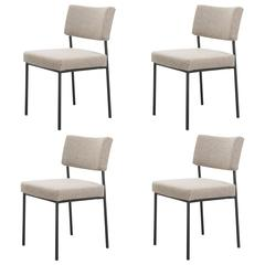 Set of Four Chairs 762 by Joseph-André Motte, Steiner Edition, 1957-1958