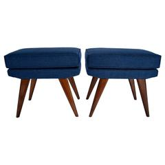 Pair of Mid-Century Danish Foot Stools