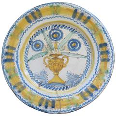 18th-Early 19th Century Spanish Plate