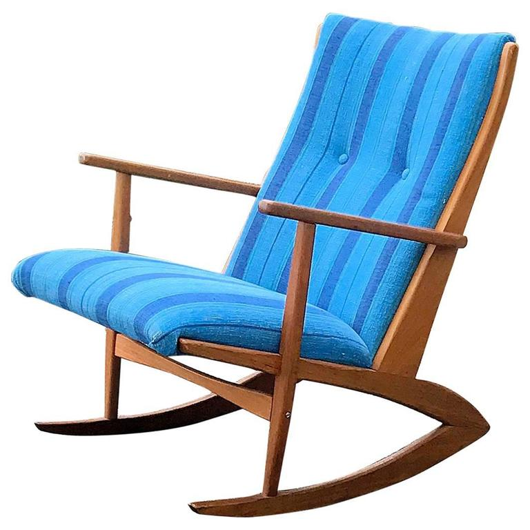 This Solid Teak Georg Jensen Rocking Chair for Kubus is no longer ...