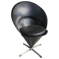 """Vintage Verner Panton """"Cone"""" Chair"""
