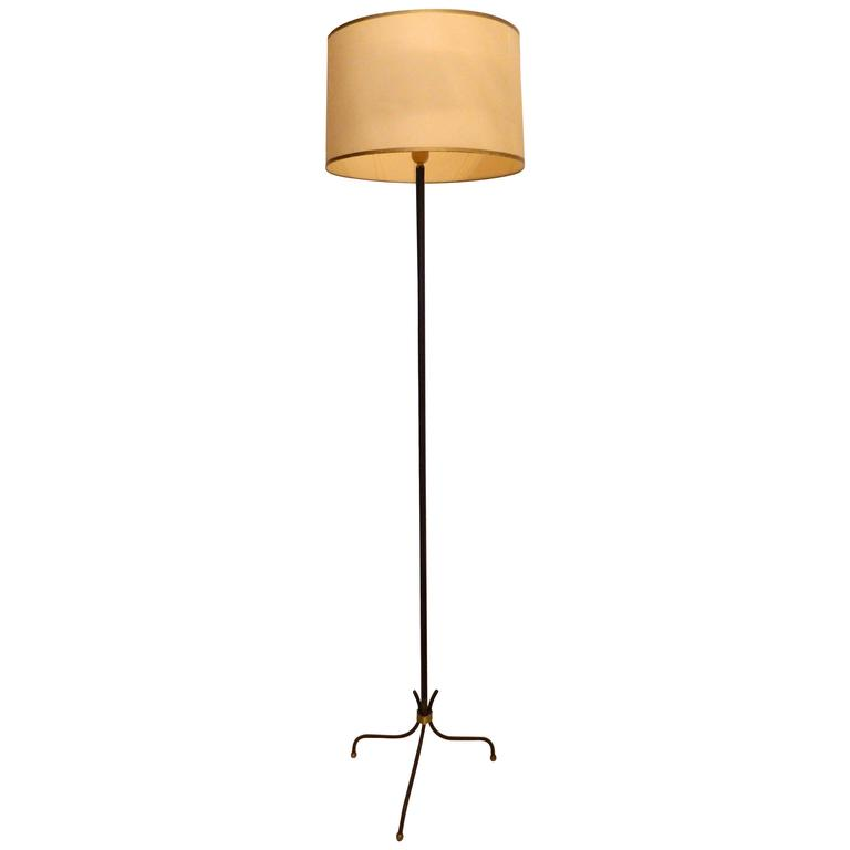 Jacques Adnet Style Floor Lamp For Sale