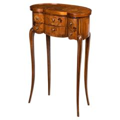 Late 19th Century Continental Marquetry Commode
