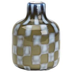 Vintage Italian Murano Pezzato Art Glass Vase, 20th Century
