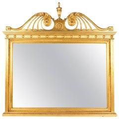 Ornate Italian Florentine Mirror 161 x 161 cm