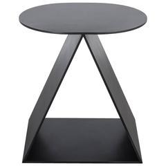 Tack Stool by Uhuru Design in Hand-Blackened Steel