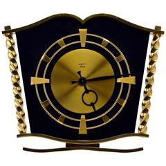 Bayard French Art Deco 8 Days Clock, 1940