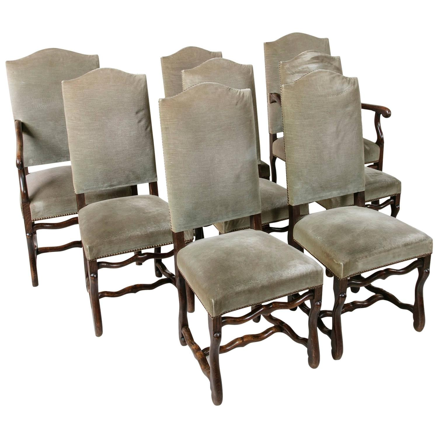 louis xiii dining room chairs 25 for sale at 1stdibs