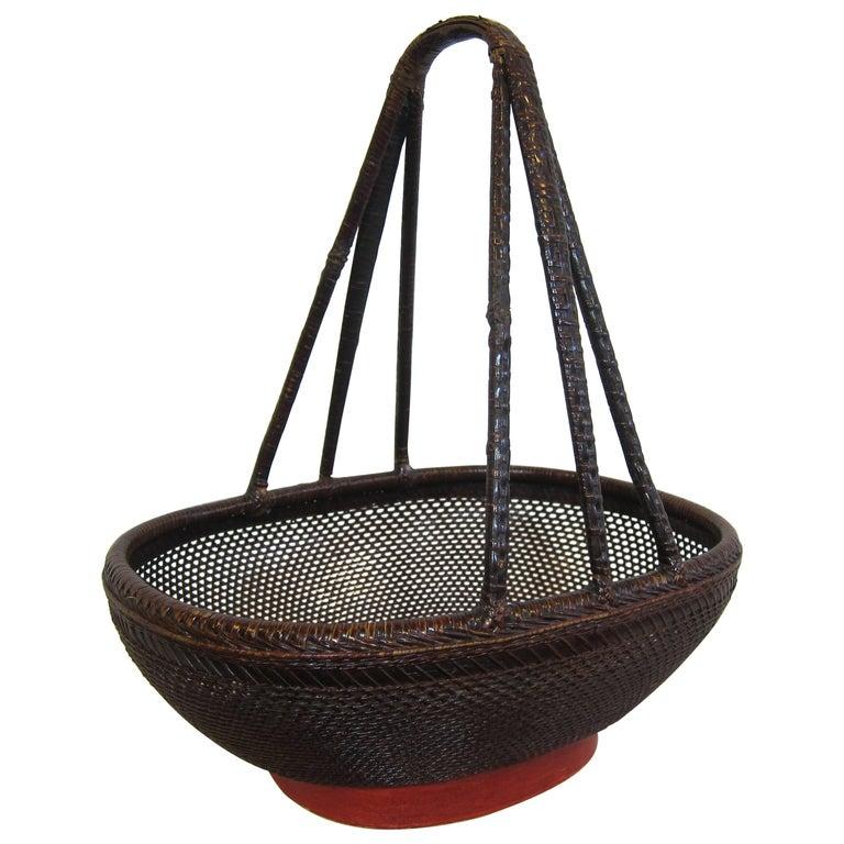 Antique Basket For Sale