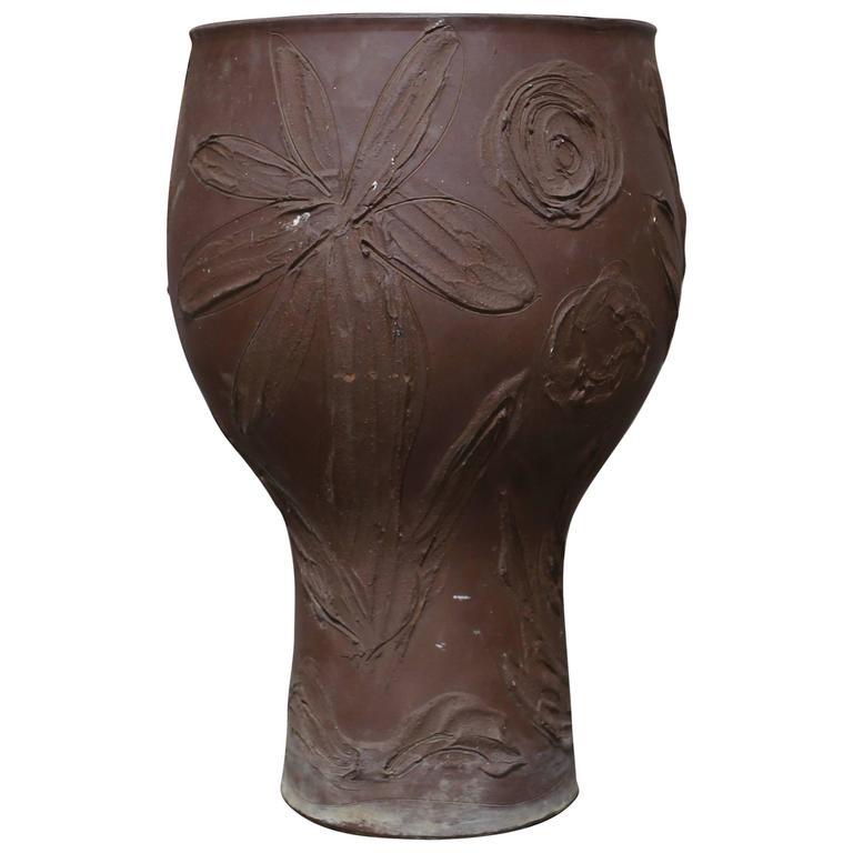 "David Cressey ""Expressive"" Design Ceramic Planter"